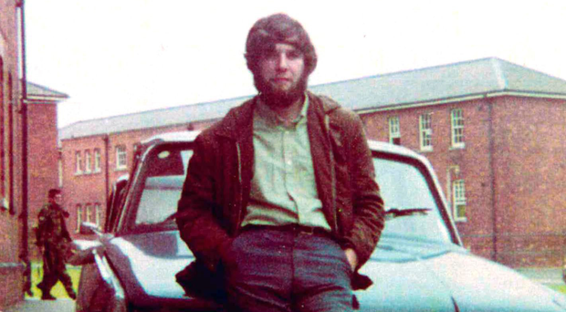 Sapper Telford Stuart was killed by the IRA in 1972