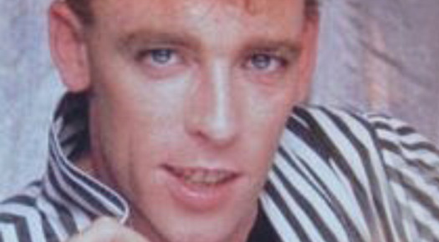 Jimmy McShane, who died in 1995, had a worldwide hit with Tarzan Boy in the mid-Eighties