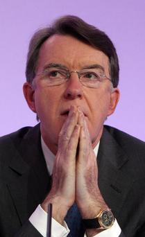Former Northern Ireland Secretary Lord Mandelson said peace process would be in danger if UK left EU