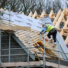 A total of 36,566 new homes were registered across the UK in the first quarter of 2016, figures show