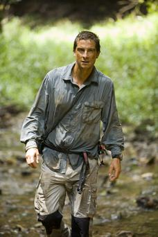 Stodgy start: Bear Grylls