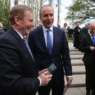Enda Kenny and Micheal Martin have struck a deal