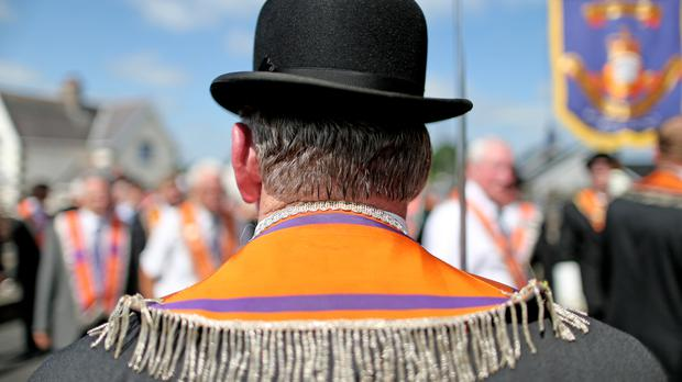 An attack on an Orange Hall in Co Tyrone is an attack on the whole community, a spokesman has said
