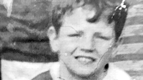 Francis Rowntree, who was 11 years old when he was killed by a rubber bullet more than 40 years ago