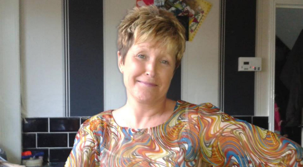 Geraldine Martin fell 45ft on the first night of her holiday in Spain