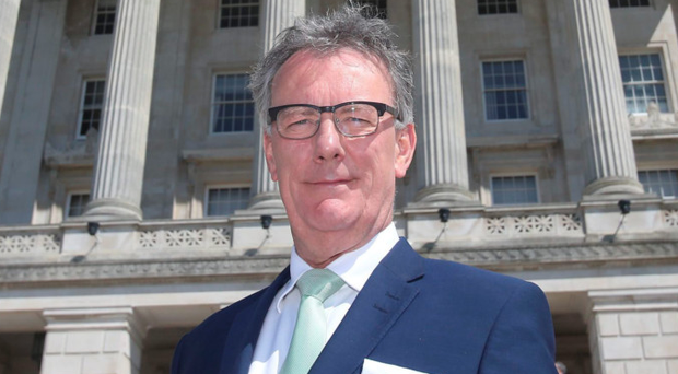 Leader of the Ulster Unionist Party, Mike Nesbitt
