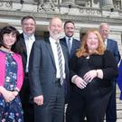 Alliance leader David Ford with his party's MLAs
