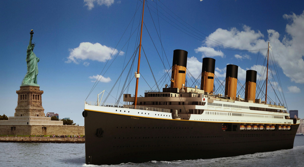 An audacious plan to build a full-size, seaworthy replica of the Titanic has run aground