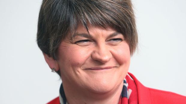 DUP leader Arlene Foster was congratulated by David Cameron over her election success