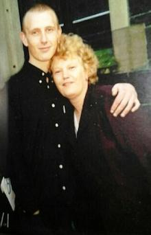 Jonathan Magee with his mother Maureen