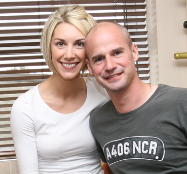 Ryan Farquhar with his wife Karen [File photo]