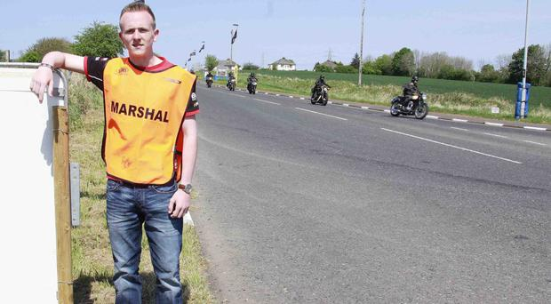 Lewis Anderson, who will be a marshal in memory of late father David