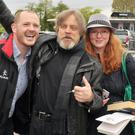 Mark Hamill meeting fans at Belfast International Airport