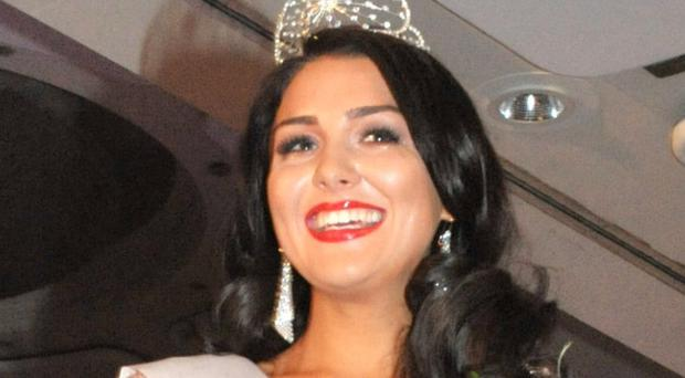 The new Miss NI Emma Carswell