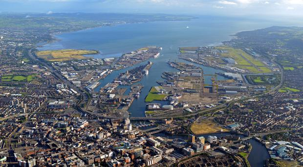 Regeneration around Belfast Harbour has been stifled, it is claimed
