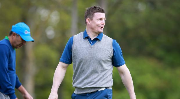 Former Ireland rugby captian Brian O'Driscoll