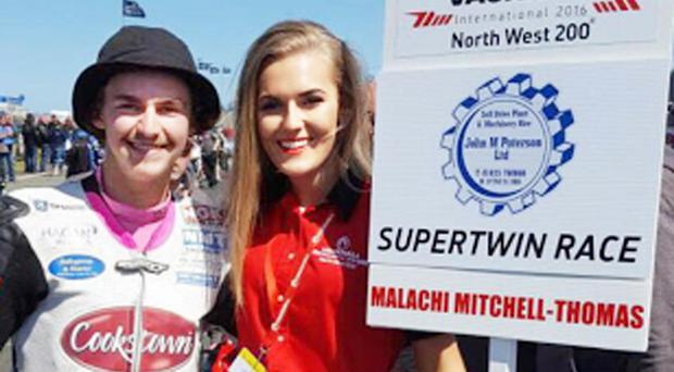 Brittany McAfee with Malachi