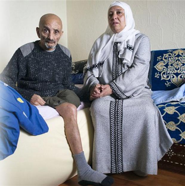 Zaoui Berezag, who was left with terrible injuries after the Docklands bombing in 1996 and his wife Gemma who died last week