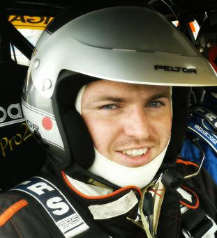 Ryan Bradley, who died in a rally car accident