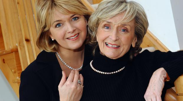 BBC presenter Rose Neill and her mother Doreen