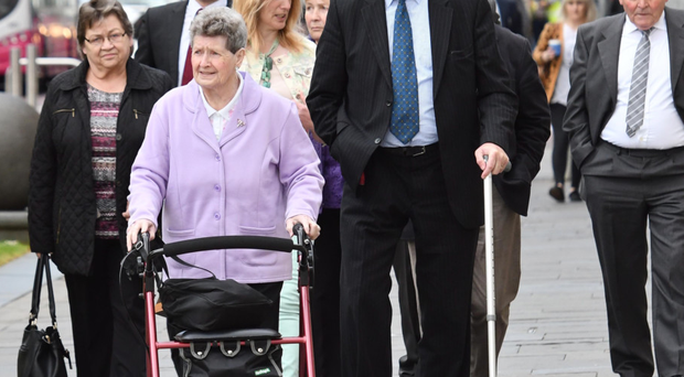 Families of those killed in the Kingsmills massacre attend the long-awaited inquest