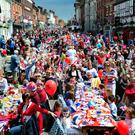 A party to commemorate the Queen's Diamond Jubilee as a poll found most people think their street is friendly