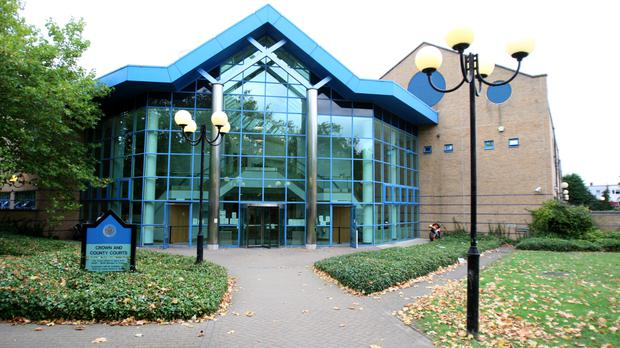 The two men are standing trial at Basildon Crown Court in Essex