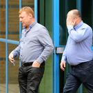 Martin McGlinchey and Stephen McLaughlin deny helping to smuggle illegal immigrants into the UK