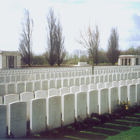 One of the Commonwealth war cemeteries around the Somme battlefield in northern France