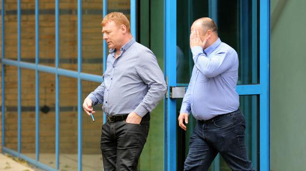 Martin McGlinchey and Stephen McLaughlin deny conspiring to facilitate illegal entry into the UK