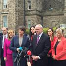 Martin McGuinness and Arlene Foster said criticism on the blueprint's lack of specific goals missed the point