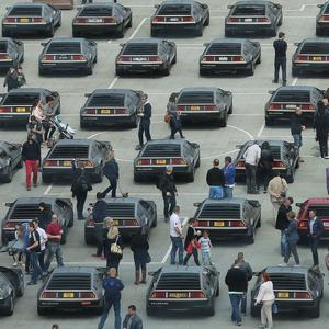 More of the world-famous stainless steel vehicles are expected to arrive in Northern Ireland for the four-day DeLorean Eurofest