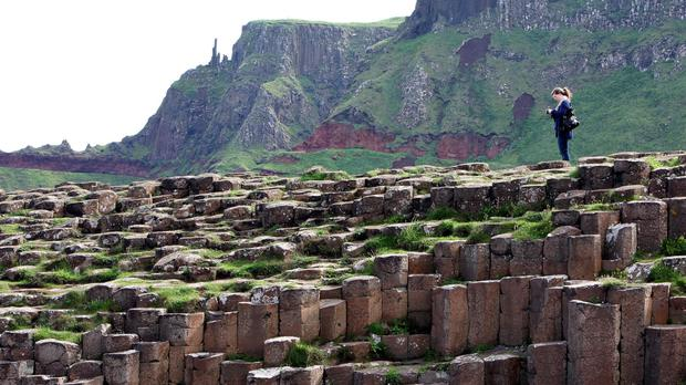 Big attraction: Giant's Causeway
