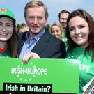Enda Kelly is campaigning for a Remain vote on June 23