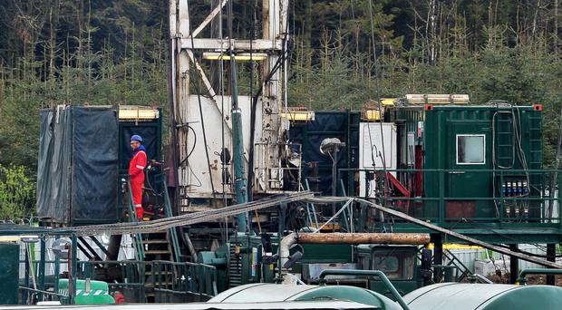 The drill at Woodburn Forest