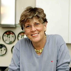 Prue Leith is one of the judges on The Great British Menu