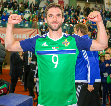 Fired up: Will Grigg