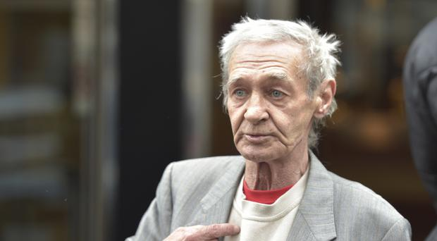 Paddy Hill, one of the Birmingham Six who were wrongly convicted of the pub bombings