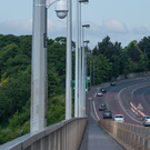 Six new CCTV cameras have been placed on the Foyle Bridge