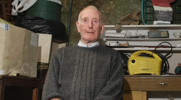 Laughlin McQuilkin, who has died on Rathlin Island aged 92