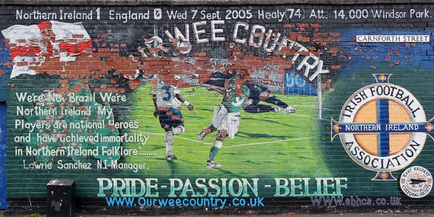 The David Healy mural