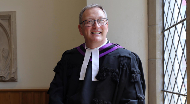 The Rt Rev Dr Frank Sellar at Church House in Belfast