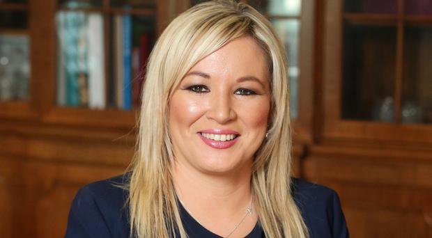 Criticised: Michelle O'Neill