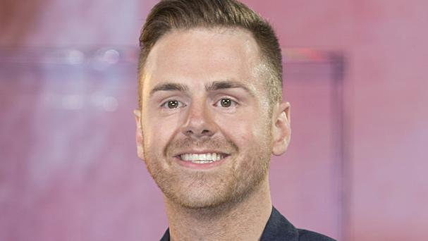 Andy West enters the Big Brother house