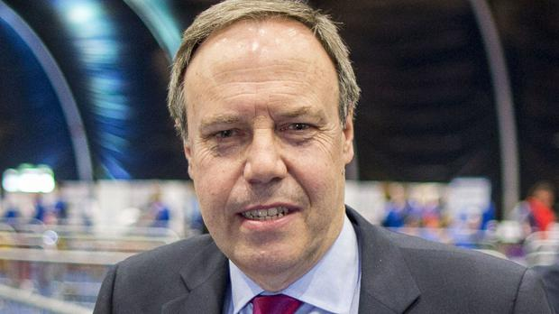 Pro-Brexit DUP deputy leader Nigel Dodds condemned Tony Blair's comments as 'irresponsible nonsense'