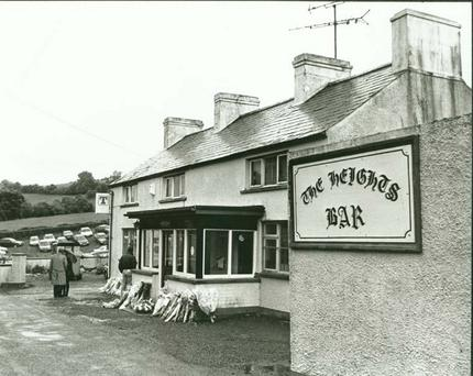 The Heights Bar in Loughinisland where the shootings took place