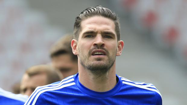 There had been fears over Kyle Lafferty's fitness after he sustained a groin injury earlier in the week