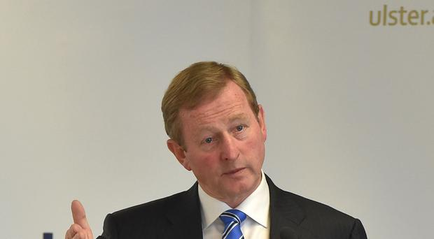 Enda Kenny defended Nama's handling of the deal