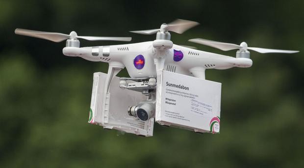 Pro-choice activists deliver abortion pills to women in Northern Ireland from the Irish Republic using a drone