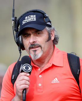 David Feherty is now a US TV commentator